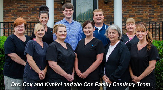 Cox Family Dentistry Team Anderson SC
